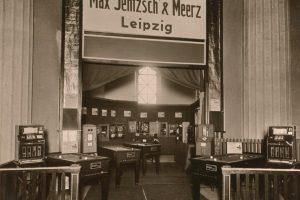 Messestand zur Frühjahrsmesse 1932