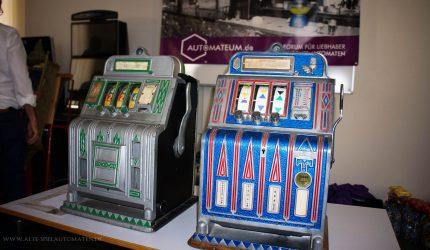 Mitgebrachte Automaten der Forenmitglieder zum Bespielen bzw. Verkauf