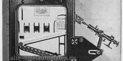 Stoßapparat an einem Krösus-Automaten 1910
